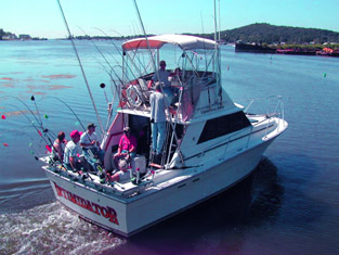 31' Silverton - Fishing Boat